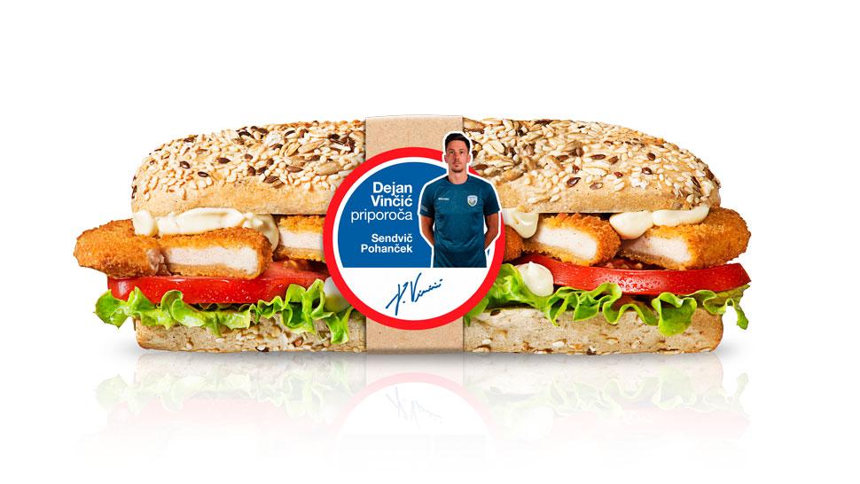 sendvič Pohanček