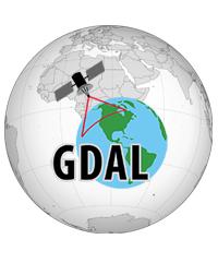 Globe with GDAL logo